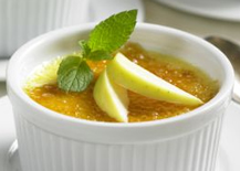Apple Creme Brulee