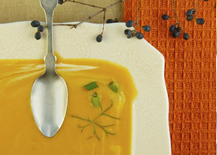 Michigan Apple and Butternut Squash Soup